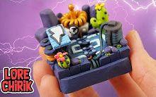 【Clay Art】制作 Electro Valley Arena from 《皇室战争》