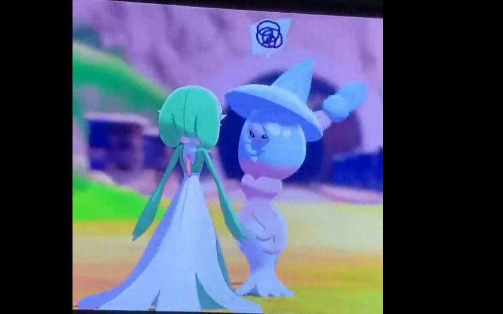 沙奈朵和布莉姆温互相看对方不爽,敢和老娘抢正宫?闪焰王牌:打扰了,你们继续争。