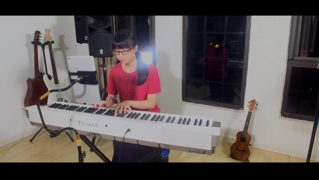 大鱼海棠钢琴曲简谱