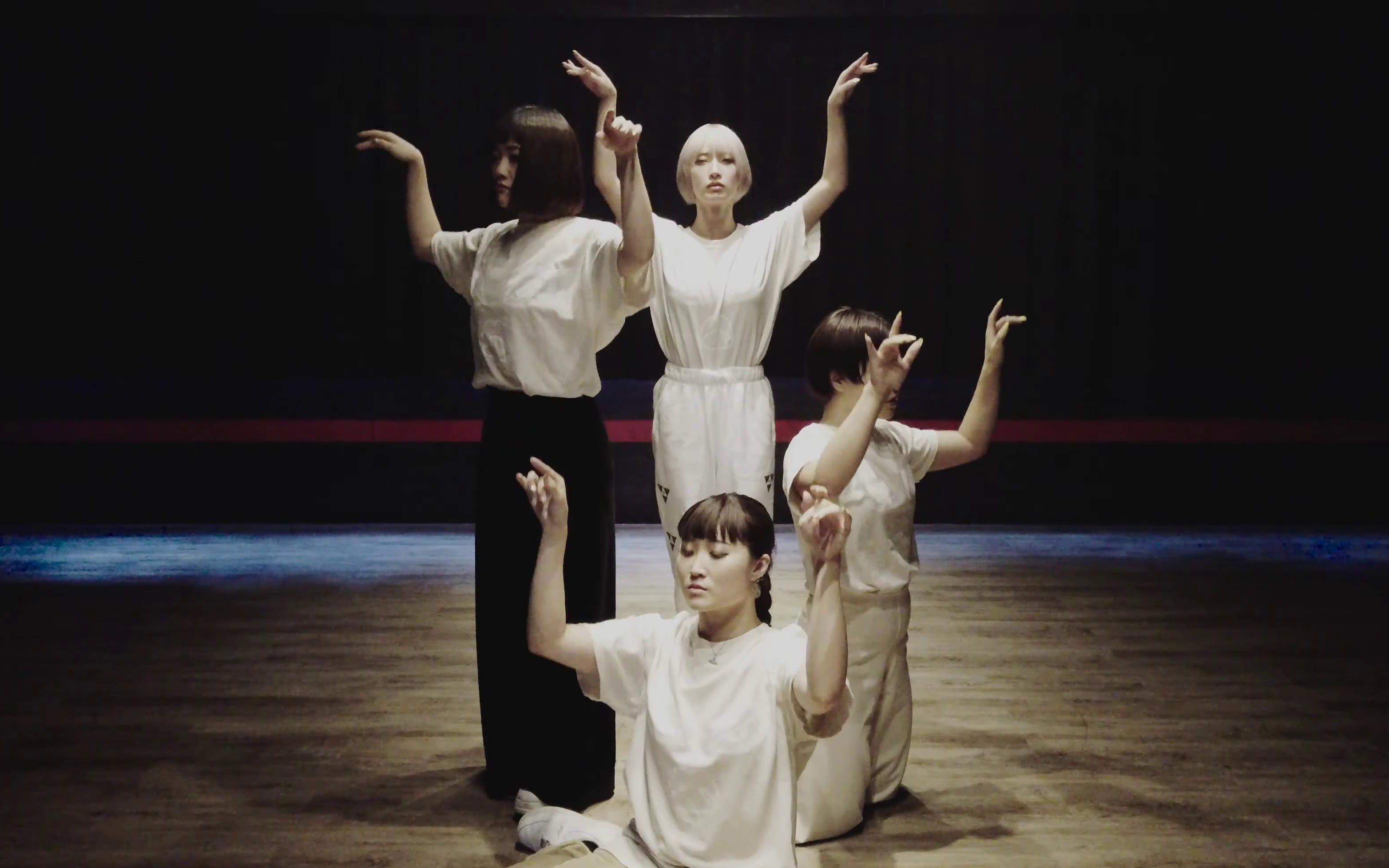 美到不像话的控制系手舞 日本舞团東京ゲゲゲイ 编舞「捧げたい」练习室版