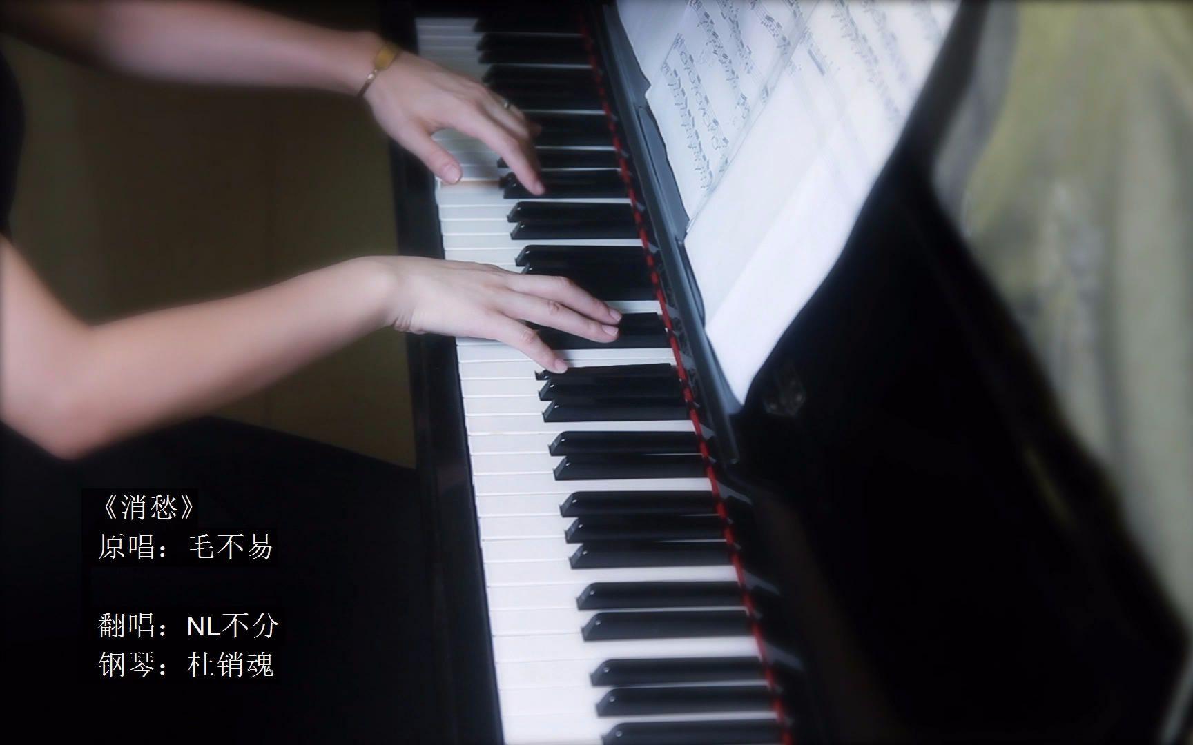【nl不分】钢琴伴唱版《消愁》——跟随琴音一起,一杯图片