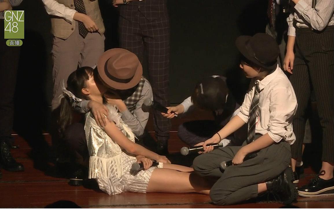 【GNZ48】20160917 Team G《剧场女神》男装公演(剧场女神服装失窃事件)