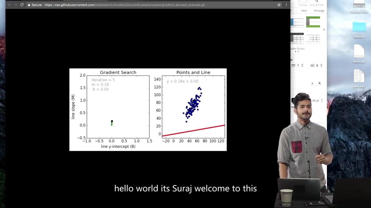 you tube.com/siraj 转载自siraj的deep learning在油管上的讲解.