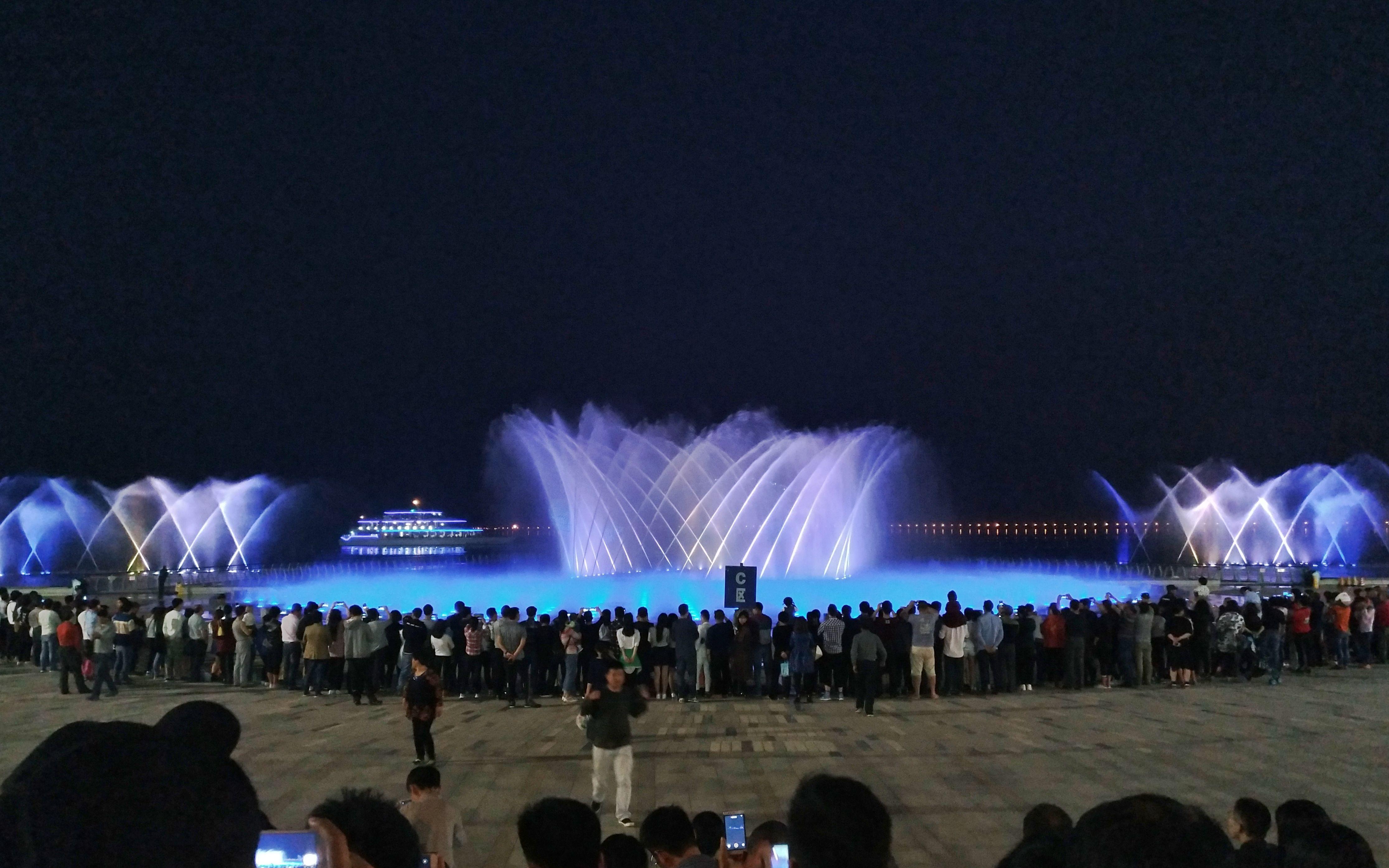 苏州湾音乐喷泉3月 图片合集图片