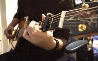 【名侦探柯南】最经典的OP之一 小松未步演唱《迷》 木吉他演奏
