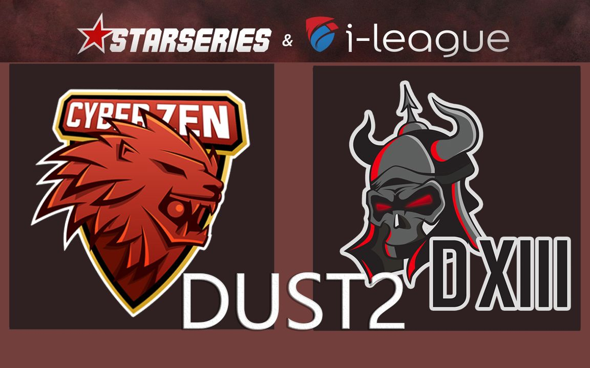 【CSGO】CyberZen vs. D13 - Starseries i League-season-7-asia-qualifier - 比赛实况