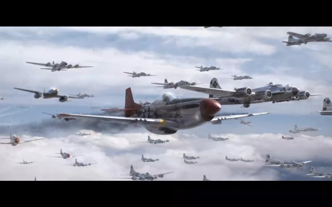二战空战-P51对阵Me262
