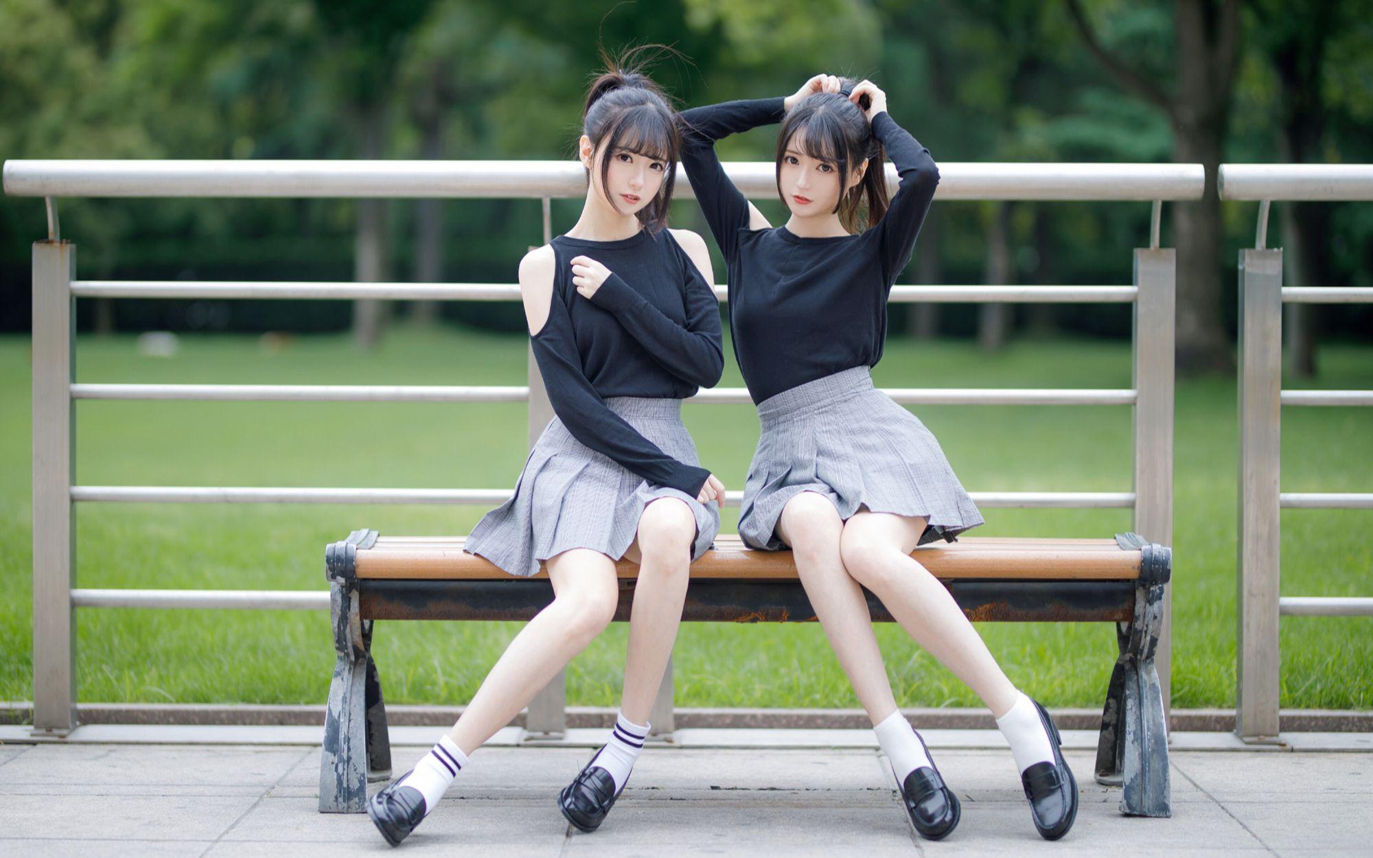【呜哝x奶果】小鹿乱撞(清纯双胞胎跳舞)