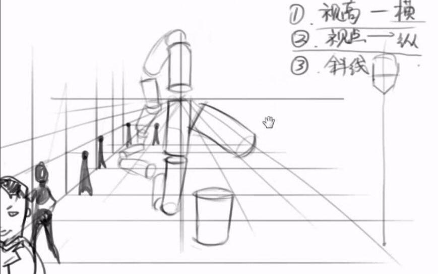 人体结构教程 人体绘画教程
