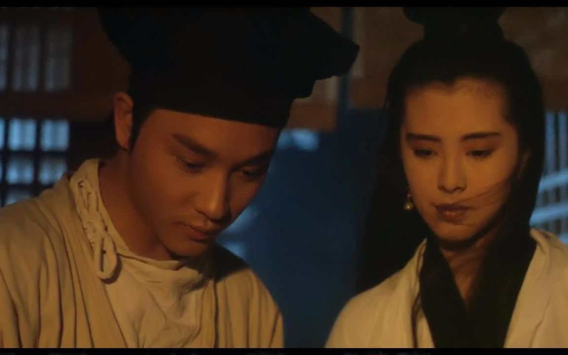 《倩女幽魂》是由徐克监制、程小东导演,张国荣、王祖贤、午马等主演的古装爱情片.图片