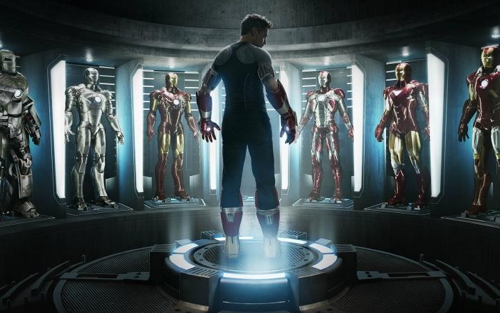 钢铁侠超帅铠甲集合图片