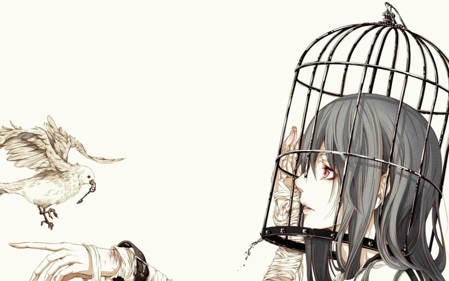 【曹真言】囚鸟