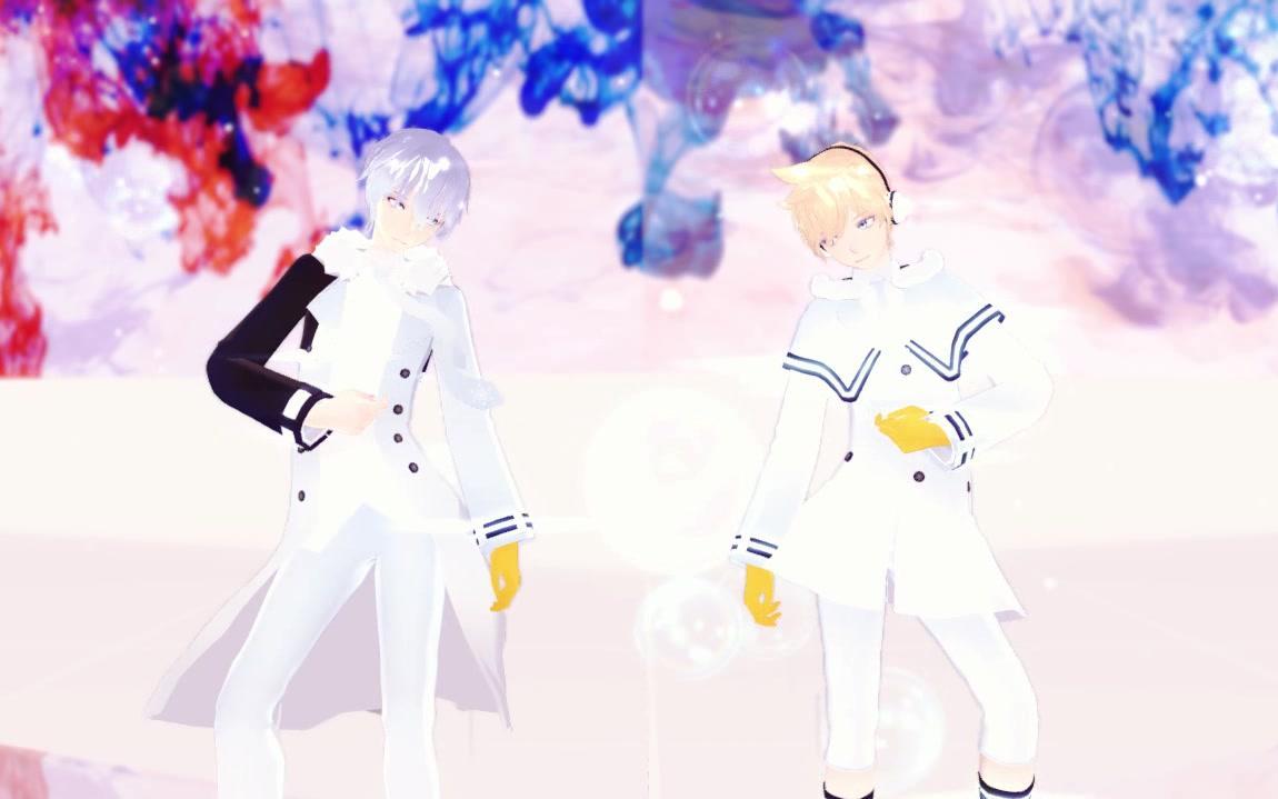 【MMD】No Title【Kaito/Len】