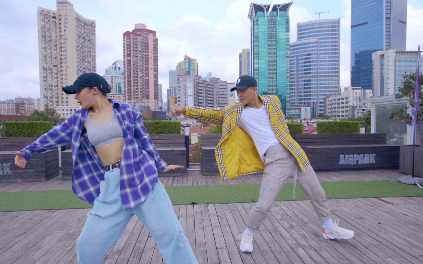 CASTER舞蹈作品︱Kino&Randy - Walk It Out