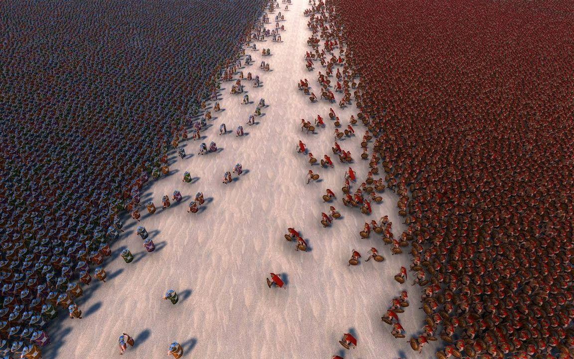 史上同屏人数最多的游戏 100万人打群架什么样?