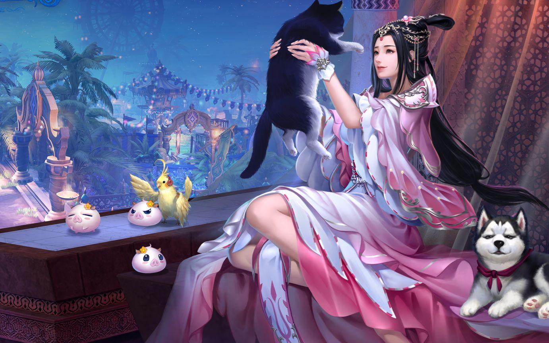 《倩女幽魂》3D游戏宣传系列
