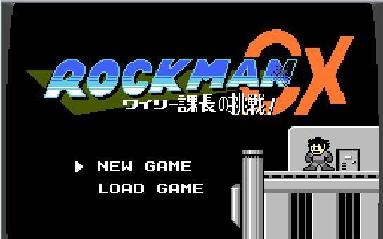 rockman2hack【rockmanCX】1版实况part2