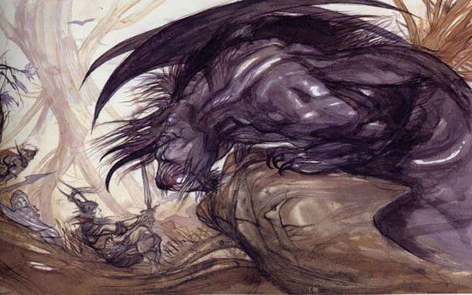 贝希摩斯-上帝创造的第一头怪物,百兽之王,比蒙巨兽,恶魔君主【怪物志】
