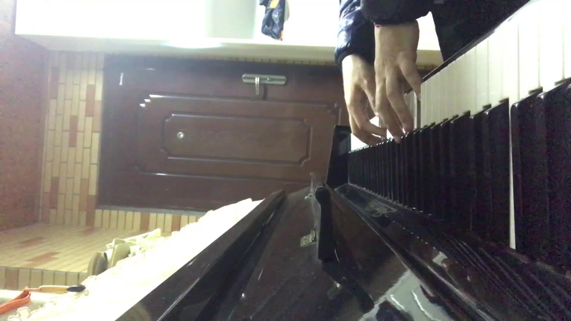 【钢琴】butterfly/数码宝贝 没有谱没有谱 弹琴靠感觉 a叔的高端谱图片
