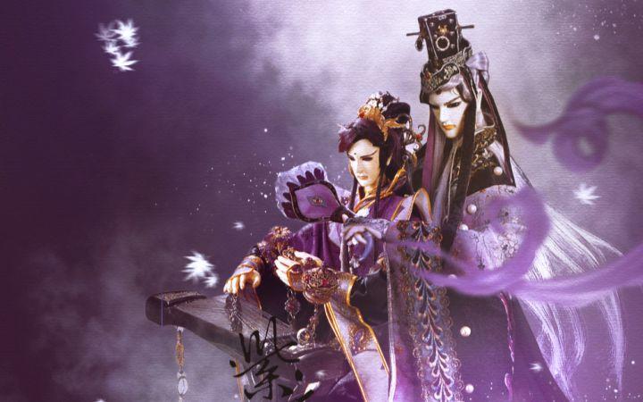 枫岫主人_霹雳布袋戏紫衣谣(枫岫主人&无衣师尹)