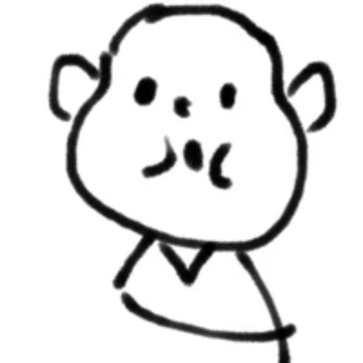 吃饺子速写_
