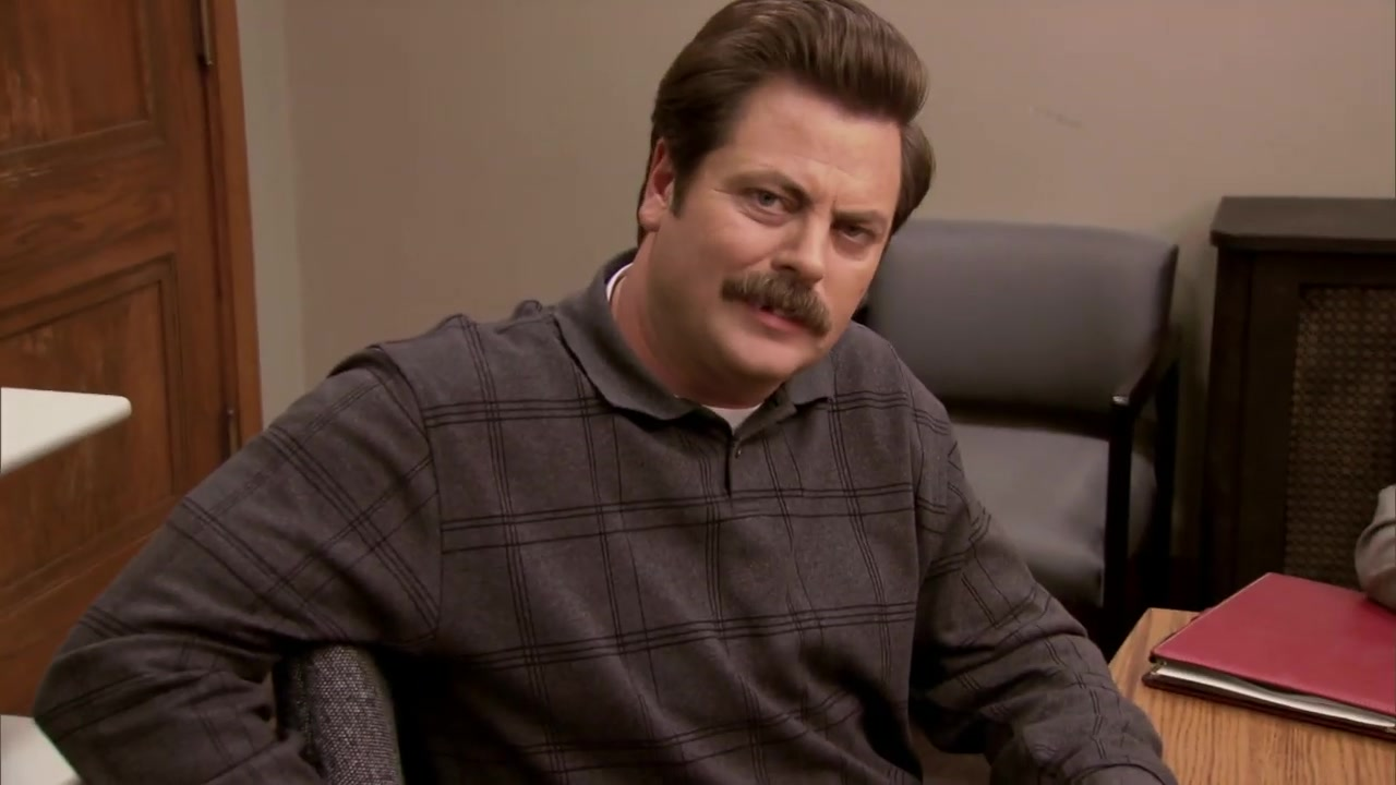 Ron Swanson Pulls Out His Tooth - Parks and Recreation