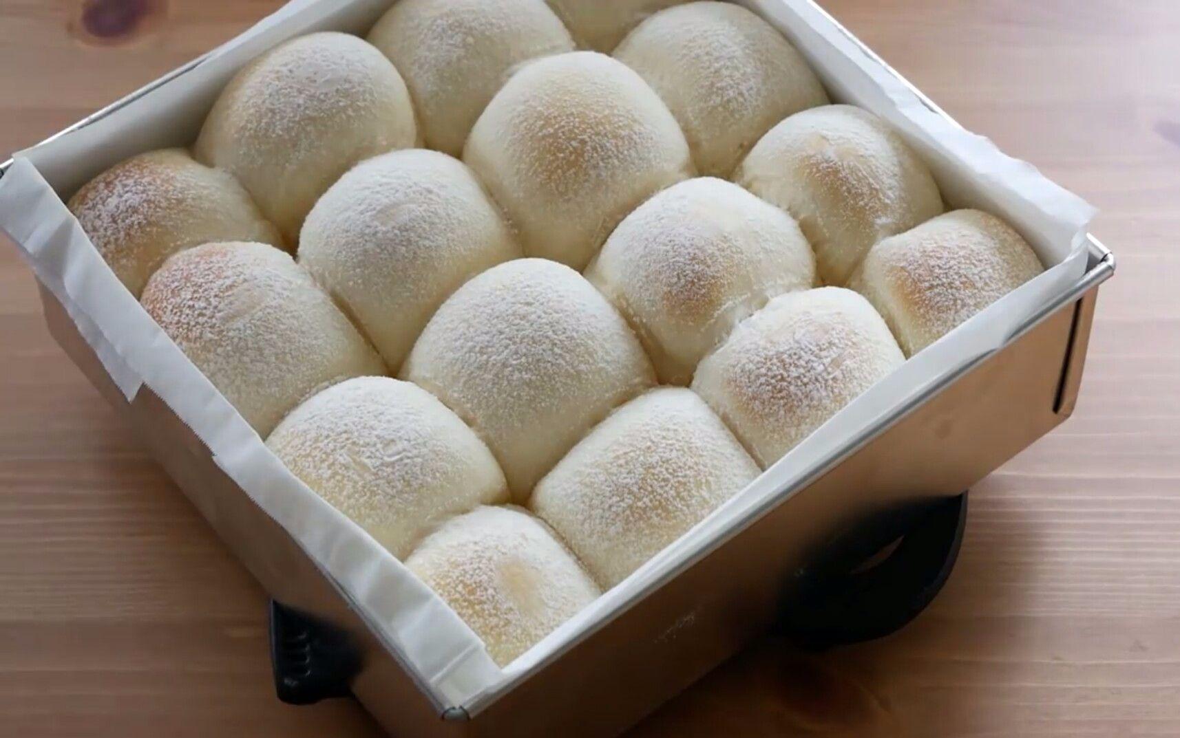 【cook kafemaru】ASMR 柔软蓬松的牛奶面包