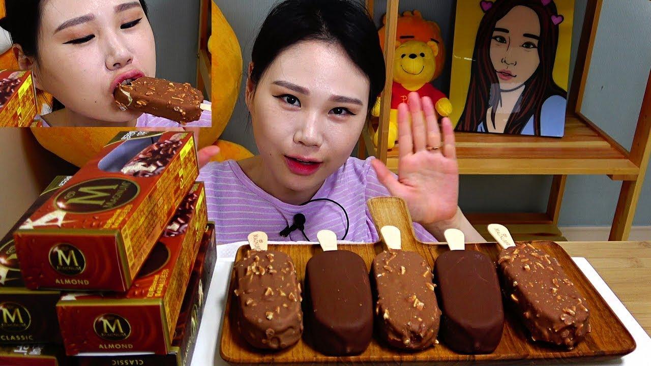 【卡妹】Magnum冰淇淋Mukbang(2019年8月25日11时16分)