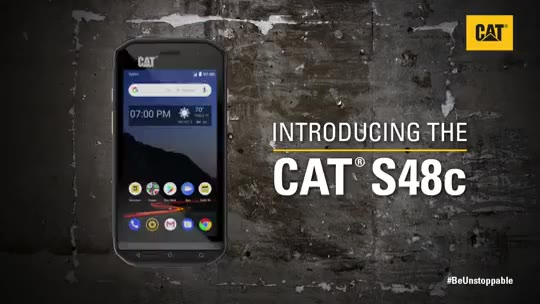 Introducing the new CAT S48c rugged smartphone_哔哩哔哩 (゜-゜)つロ 干杯~-bilibili