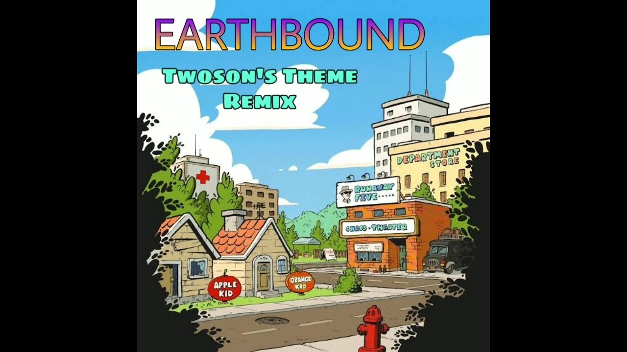 【MOTHER2/地球冒险2/Earthbound】 - Twoson's Theme(Remix)_哔哩哔哩 (゜-゜)つロ 干杯~-bilibili