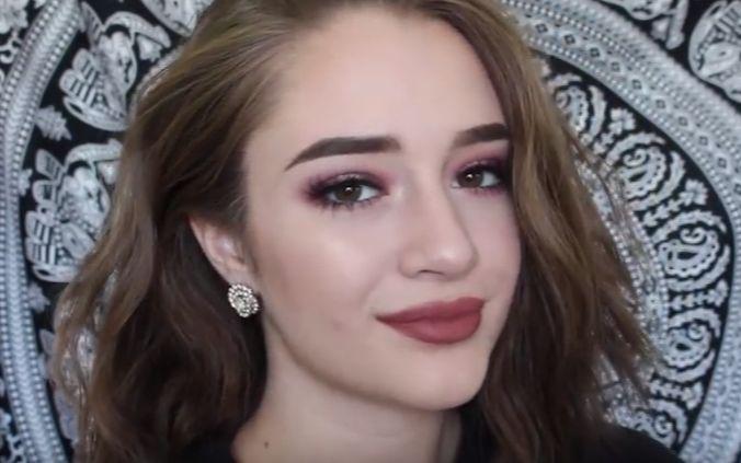 欧美妆容_【youtube搬运】超简易上手欧美妆容教程