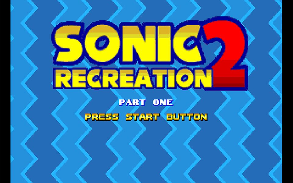 【自打通关】MD 索尼克2改版 Sonic 2 Recreation Part One