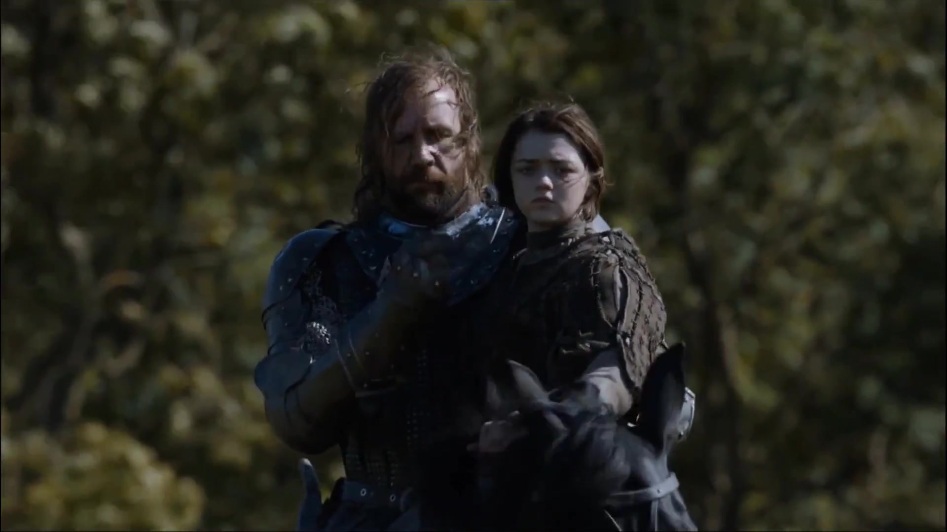 猎狗与艾莉亚 The Hound with Arya