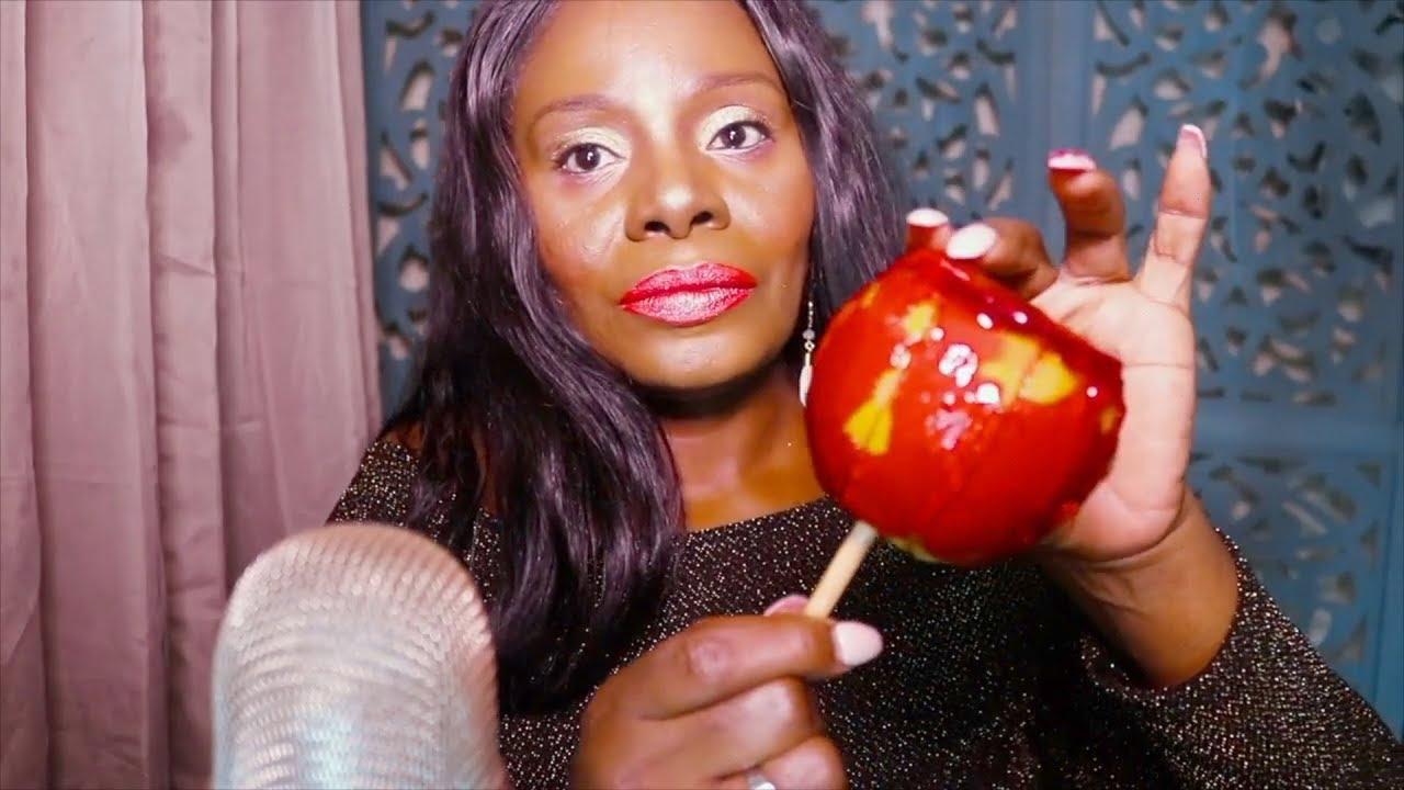 【百变阿姨】助眠糖果苹果片吃起来声音很脆(2019年11月23日12时30分)