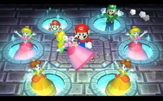 Mario Party 9 Free Play-Peach vs Daisy vs Mario vs Luigi-Very Hard Difficulty