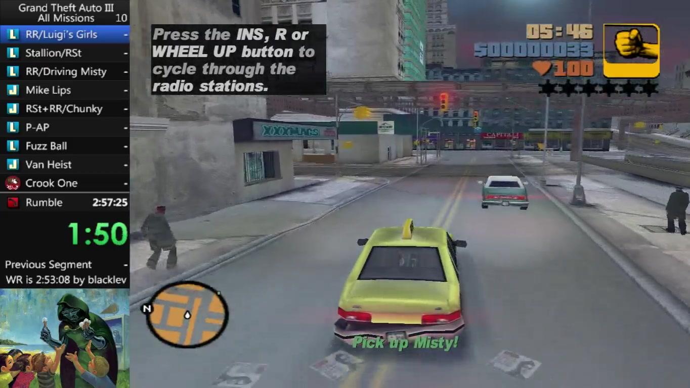 GTA3】最快通关全主线任务世界纪录2小时48分17秒下载(AV10104826)-单机