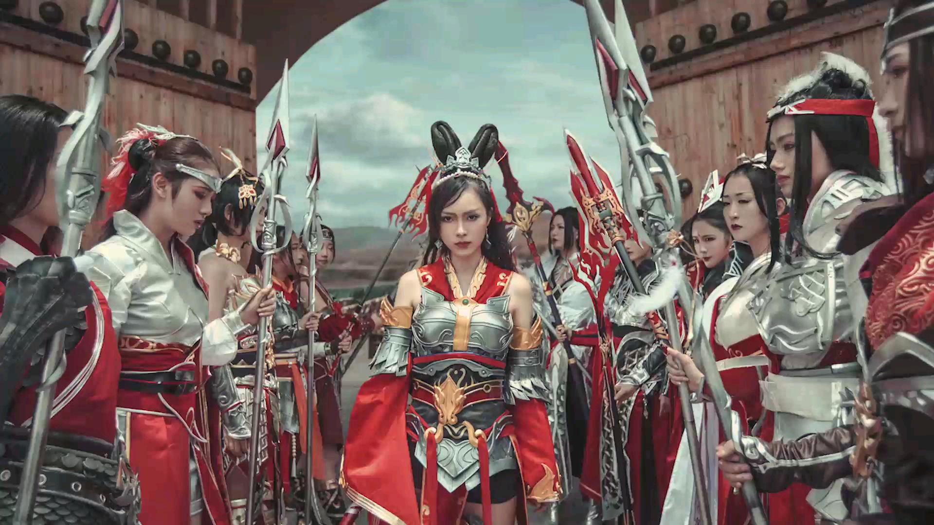 策_【剑网3】红色娘子军,天策土味情歌#cos向#_哔哩哔哩(゜-゜)つロ