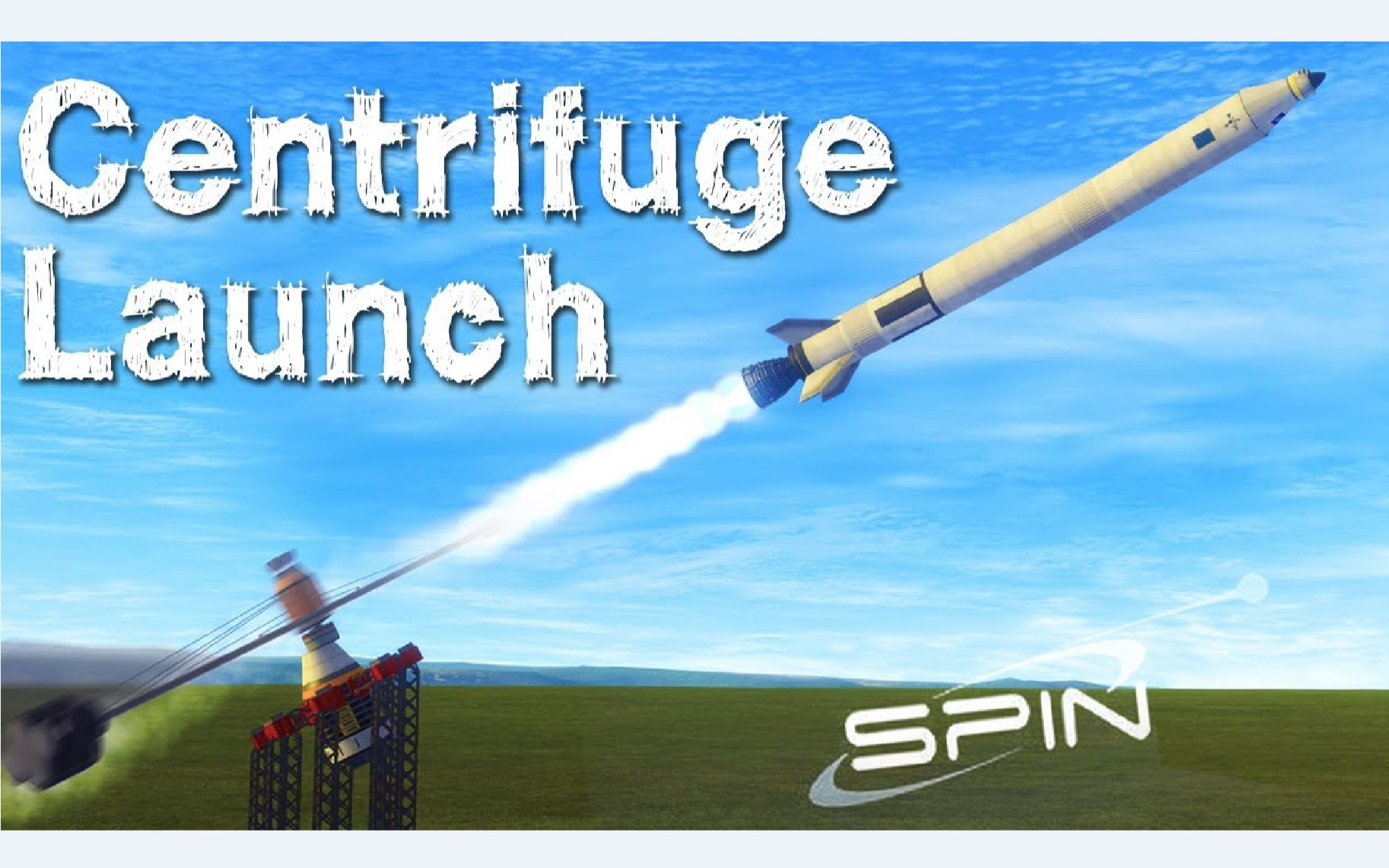 KSP_ Launching With a CENTRIFUGE_ Spin Launch Recreation