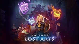 Dota 2 Invoker Persona - Acolyte of the Lost Arts