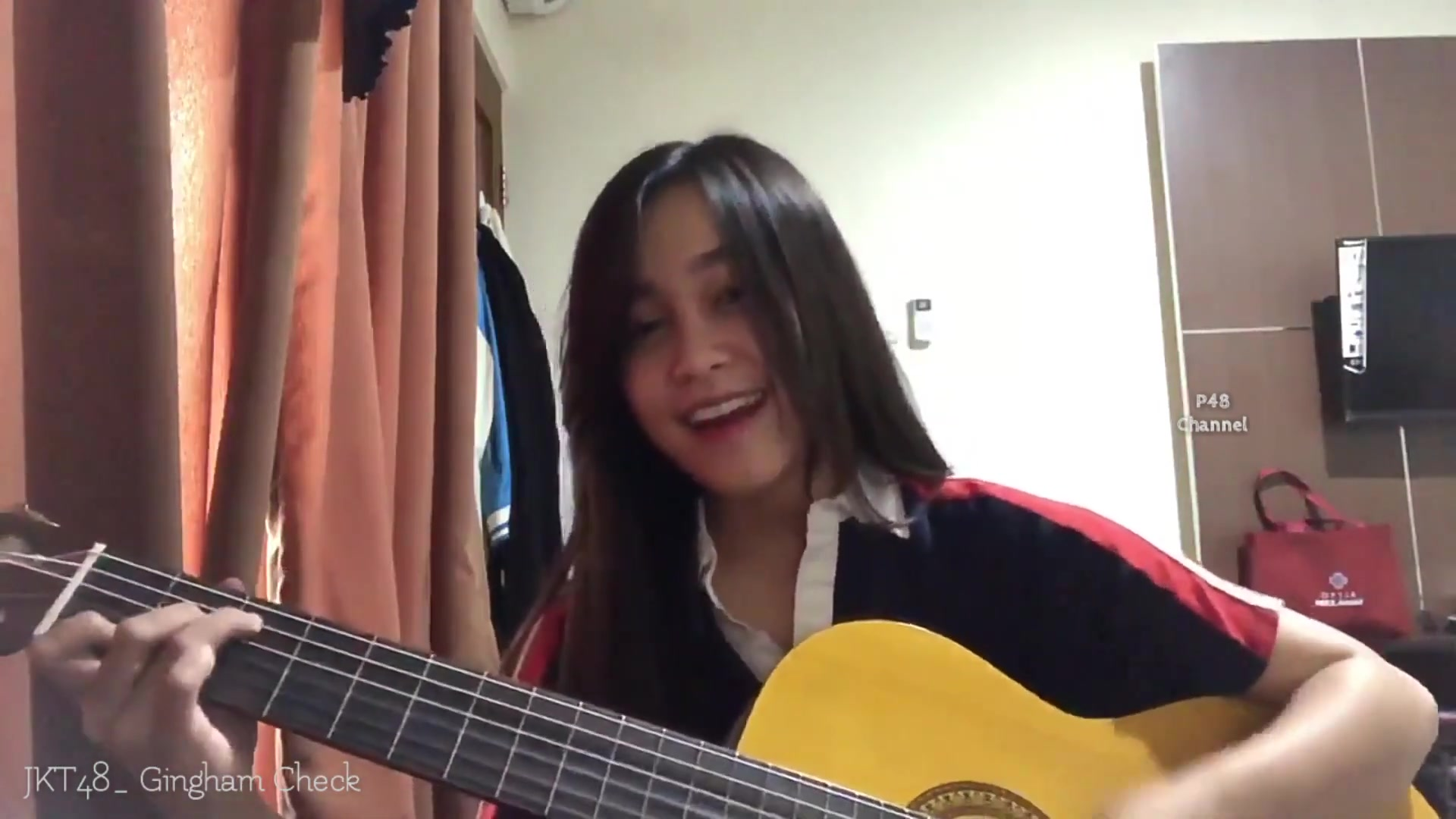 Gingham Check Cover by JKT48 NADILA