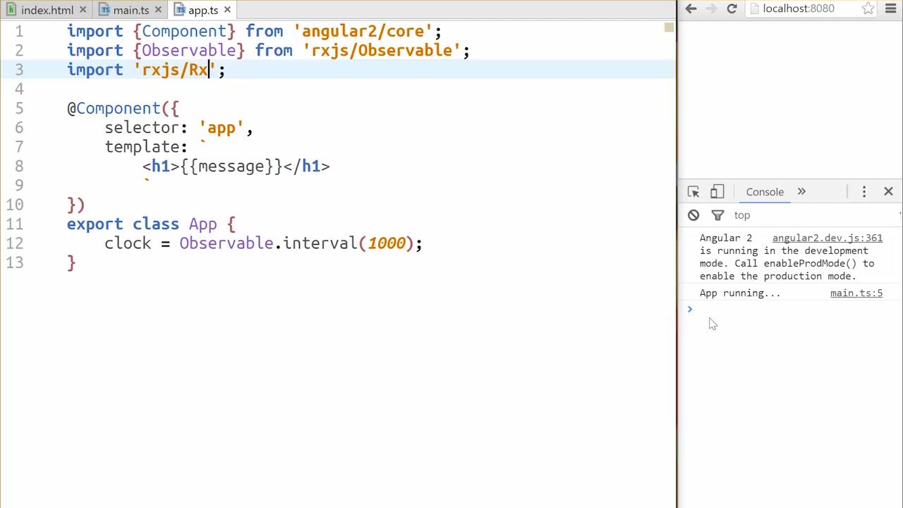 Angular2 入門 angularjs - build redux style applications with angular2
