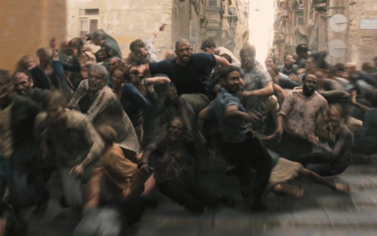 僵尸丧尸电影_一部超震撼的丧尸片,丧尸们组团翻过高墙传播病毒,全城无 ...