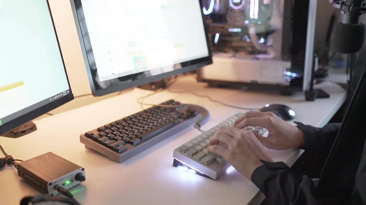 【键盘声测试】Duck Viper v2 w 78g lubed and stickered zealios_哔哩哔哩 (゜-゜)つロ  干杯~-bilibili