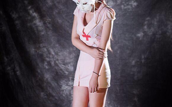 护士系列����_蒙面系列+性感护士(模特) 主题设计 单车音乐 活动策划 谷小松