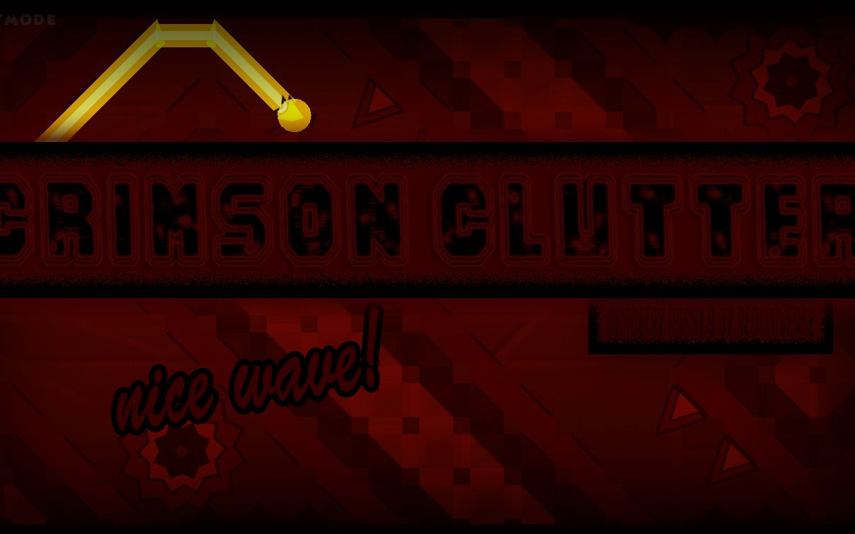 |GeometryDash|曾经的TOP10 如今的insane demon Crimson Clutter