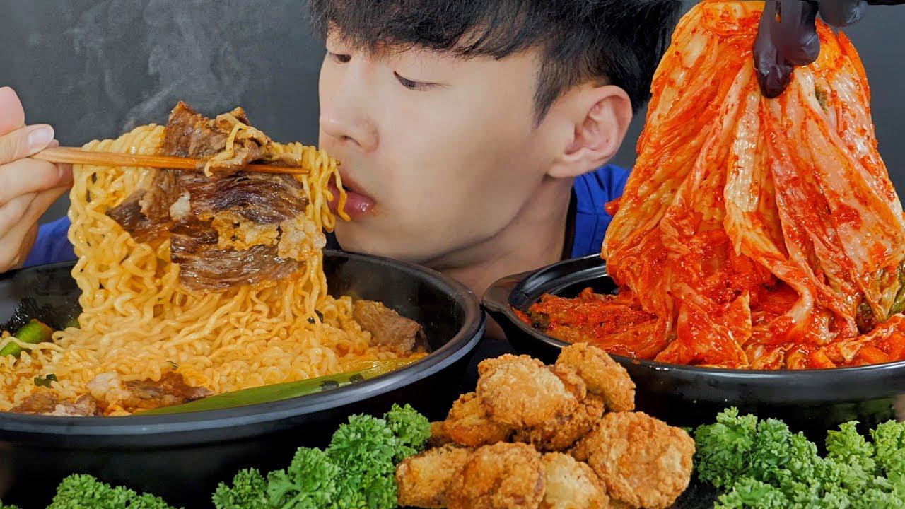 【chiyoon】木桶韩国泡菜面-美食秀(2019年8月20日20时45分)