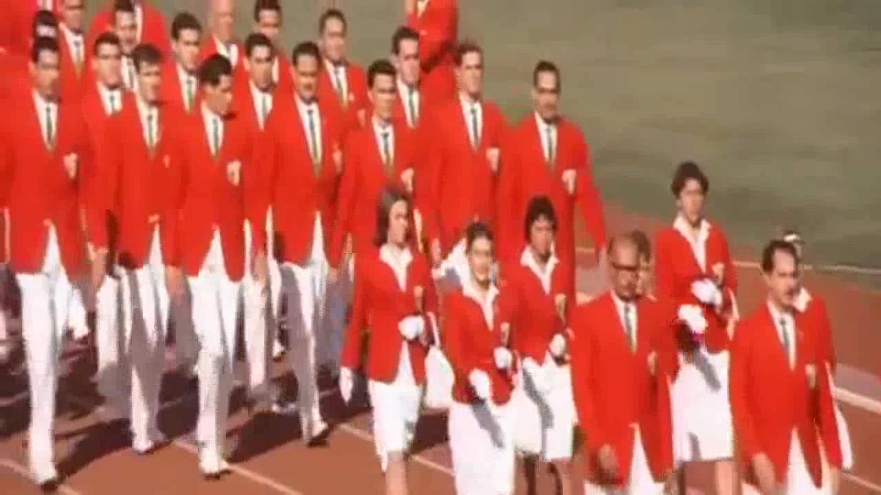 奥运会纪录片_1964年东京奥运会 开幕式_哔哩哔哩 (゜-゜)つロ 干杯~-bilibili
