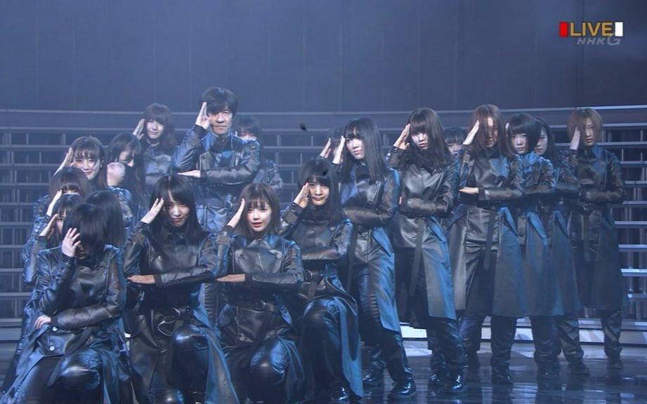 第68回红白歌合战 欅坂46 表演部分cut 哔哩哔哩 つロ干杯 Bilibili