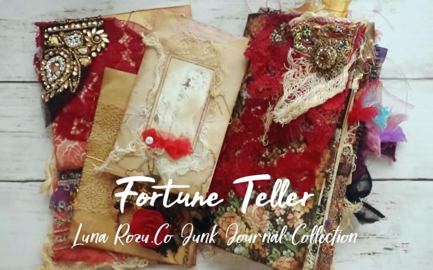 【搬运】-Fortune Teller Junk Journal-by Luna Rozu