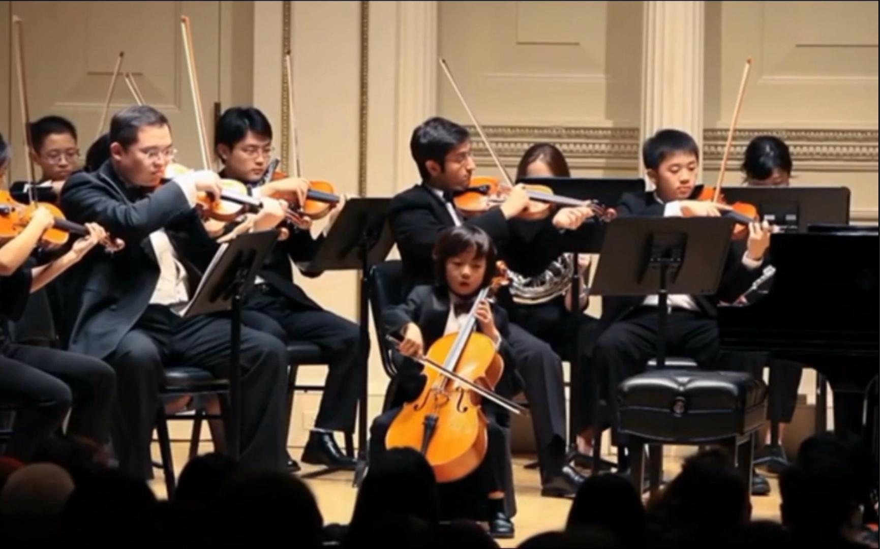 【大提琴】西班牙舞曲 Spanish Dance 演奏者:俞隽 Justin Yu